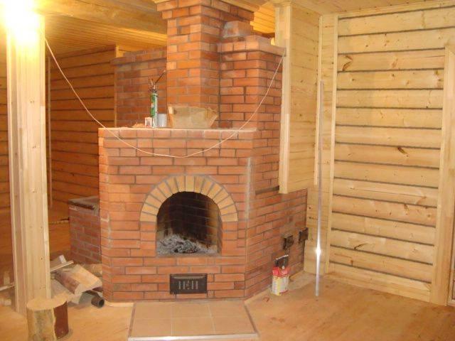 Камин с печью для дома фото