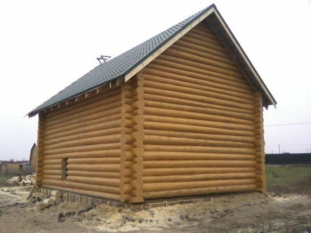 Строительство деревянного рубленного дома