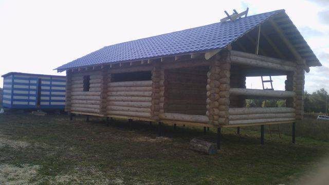 Строительство деревянной рубленной бани